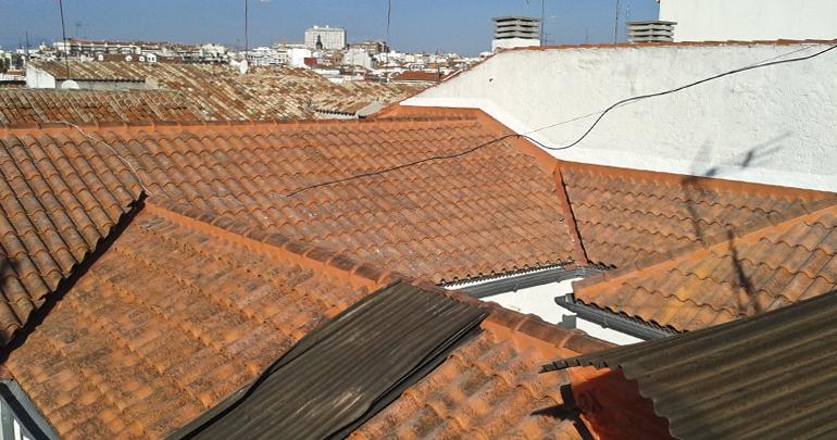 obras comunidades tejado